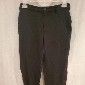 COMME DES GARCONS BLACK Side Stripe Cropped Pants